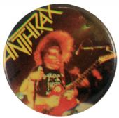 Anthrax - 'Scott Ian Hair' Button Badge